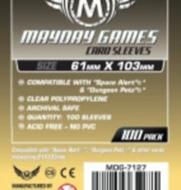 Mayday Games Solde: 7127 Sleeve «magnum Space Alert & Dungeon Petz» 61mm X 103mm / 100