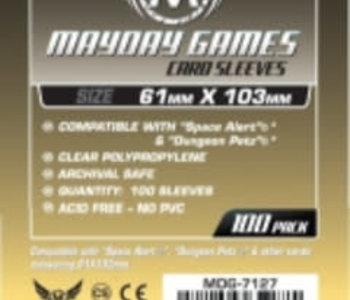 7127 Sleeve «magnum Space Alert & Dungeon Petz» 61mm X 103mm / 100