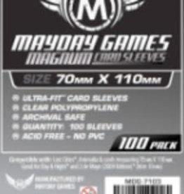 Mayday Games Solde: 7103 Sleeve «magnum silver» 70mm X 110mm / 100