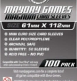 Mayday Games Solde: 7113 Sleeve «magnum platinum» 61mm X 112mm / 100
