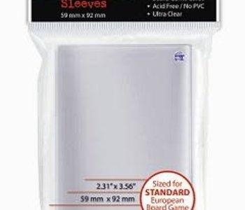 82602 Ultra Pro «Standard European» 59 mm X 92 mm / 50 sleeves