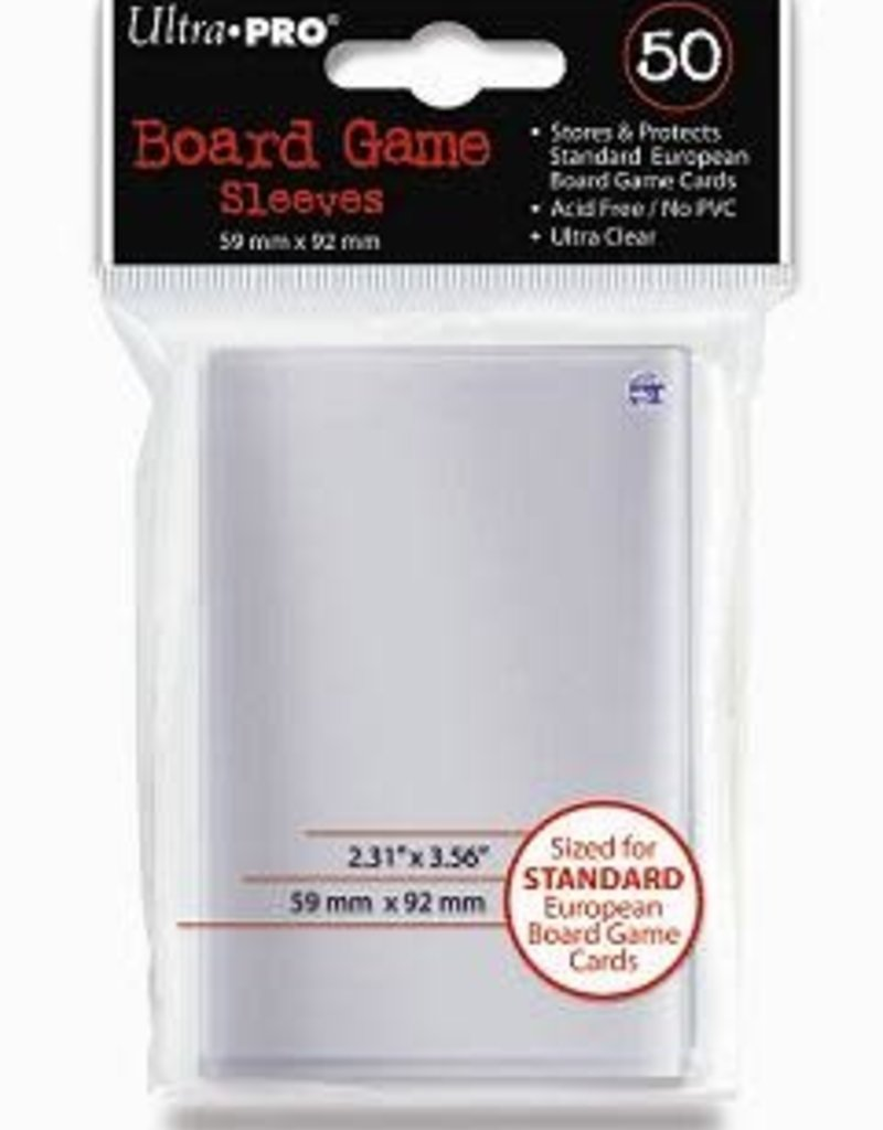 Ultra pro 82602 Sleeve «Standard European» 59 mm X 92 mm / 50