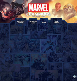 Fantasy Flight Précommande: Marvel Champions LCG: 1-4 Player Game Mat (EN)