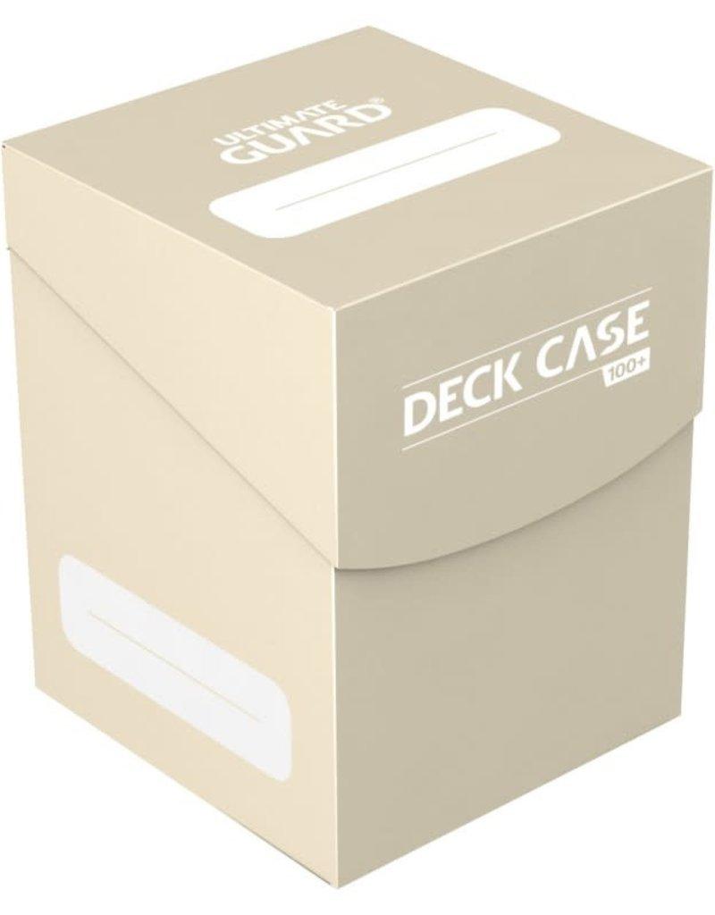 Ultimate Guard Deck Case: Standard /100: Sand