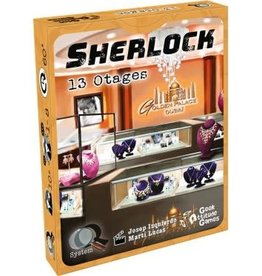Geek Attitude Games Q System Serie Sherlock: 13 Otages (FR)