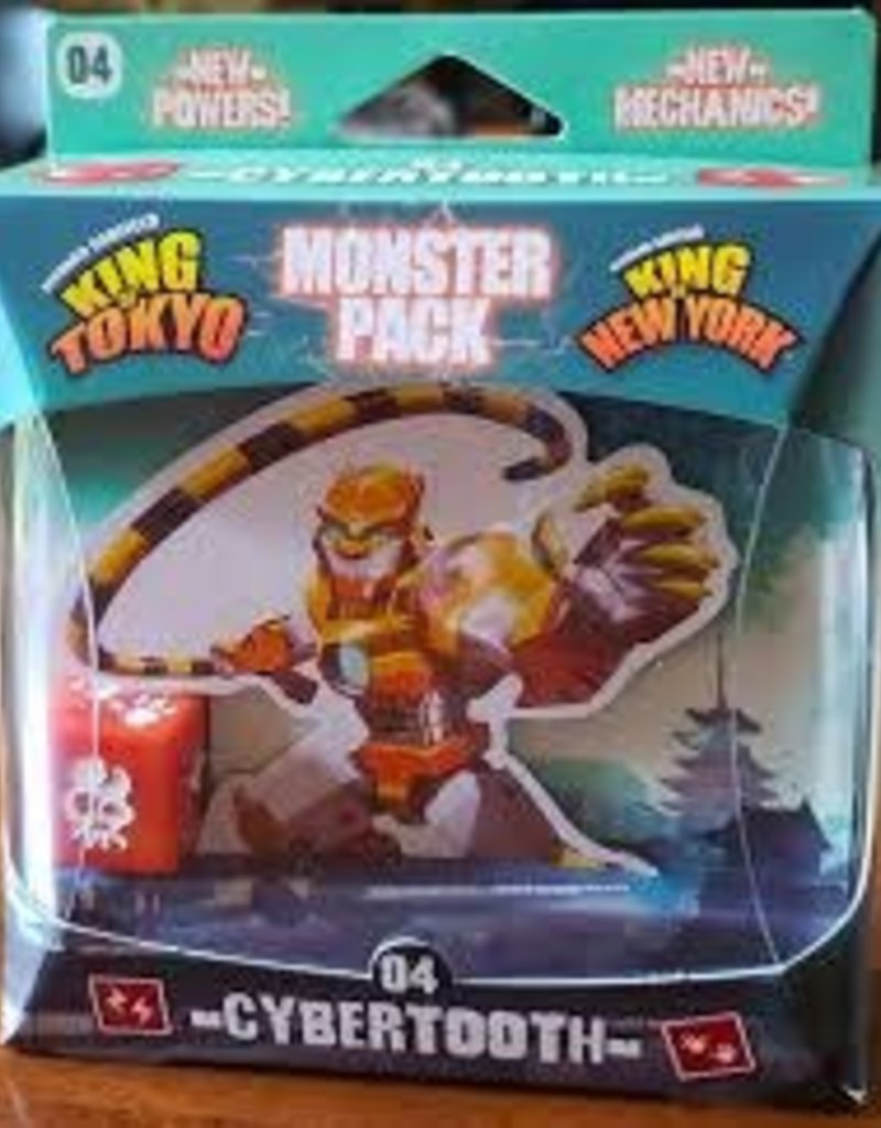 Iello King of Tokyo / New York: Monster Pack 4: Cybertooth (FR)
