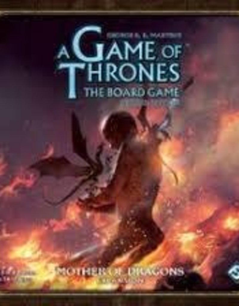 Fantasy Flight Games A Game Of Thrones The Board Game: Ext. Mother Of Dragons (EN) (Commande Spéciale)