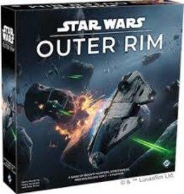 Fantasy Flight Games Star Wars: Outer Rim (EN) (Commande Spéciale)