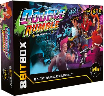 8 Bit Box: Ext. Double Rumble (EN) (commande spéciale)