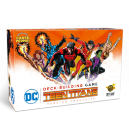 Cryptozoic Entertainment DC Comics  Deck Building Game: Ext. Teen Titans (FR)