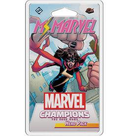 Fantasy Flight Games Précommande: Marvel Champions LCG: MS. Marvel Hero Pak (EN) (sur demande)