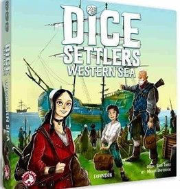 Gamewright Dice Settlers: Ext. Western Sea (EN)