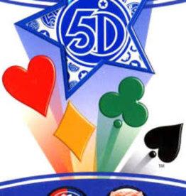 5°Dimension International Carte 5 Dimensions Version Bleu 80 cartes (FR) (Commande spéciale)