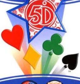 5°Dimension International Carte 5 Dimensions Version Rouge 80 cartes (FR) (commande spéciale)