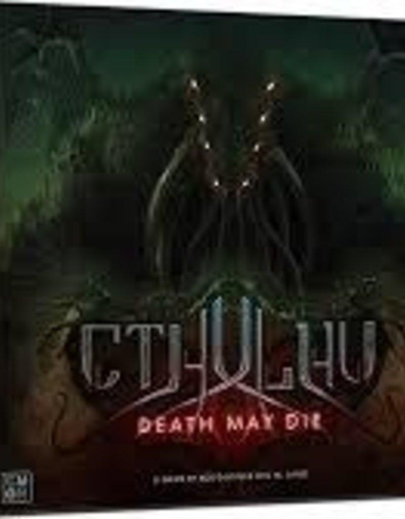 CMON Limited Cthulhu: Death May Die (EN) (Commande Spéciale)