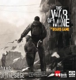 Ares Games Précommande: This War Of Mine: Ext. Days Of The Siege (EN)