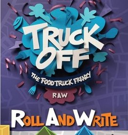 Adam's Apple Games Précommande: Truck Off: The Food Truck Frenzy Roll And Write (EN)