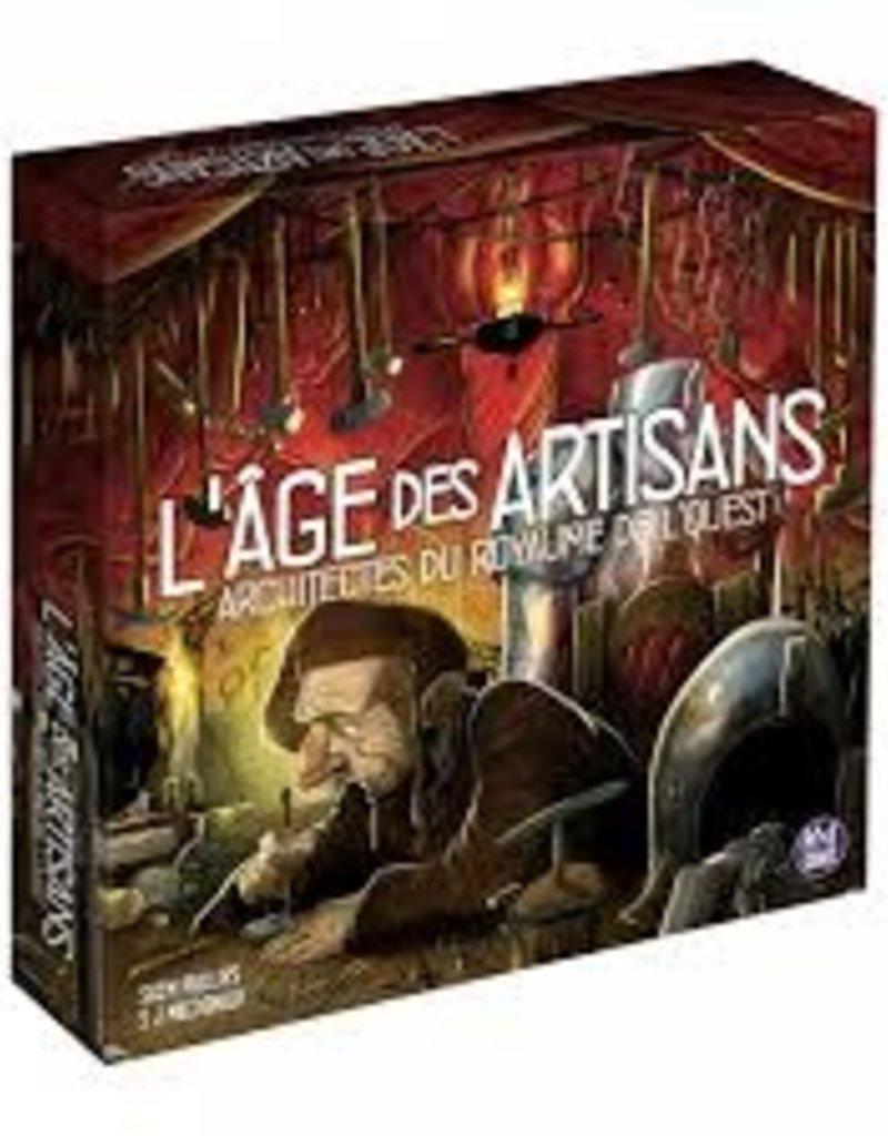 PixieGames Précommande: Architectes Du Royaume De L'Ouest: Ext. L'Age Des Artisans (FR)