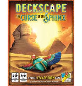 Super Meeple Précommande: Deckscape 6 : La Malédiction Du Sphinx (FR)