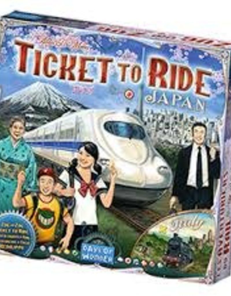 Précommande: Ticket To Ride: Ext. Japan/Italy Map #7 (ML)