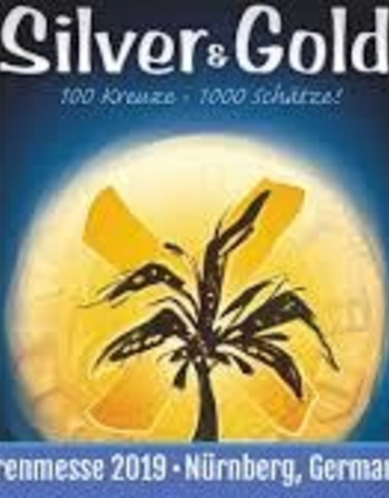 Pandasaurus Silver And Gold (EN)