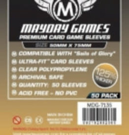 Mayday Games Sleeves - MDG-7135 «Sails of Glory» 50mm X 75mm Deluxe / 50