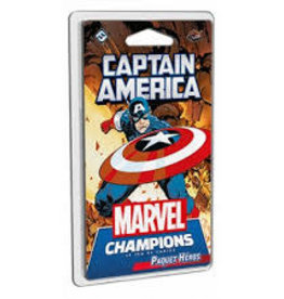 Fantasy Flight Games Précommande: Marvel Champions : Le Jeu De Cartes - Captain America (FR) (sur demande)