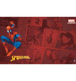 Fantasy Flight Games Précommande: Marvel Champions LCG: Spider-Man Game Mat (EN) (sur demande)