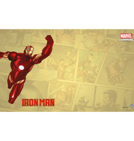 Fantasy Flight Games Précommande: Marvel Champions LCG: Iron Man Game Mat (EN) (sur demande)