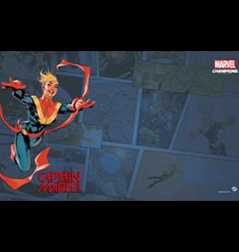Fantasy Flight Games Précommande: Marvel Champions LCG: Captain Marvel Game Mat (EN) (sur demande)