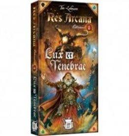 Sand Castle Games Précommande: Res Arcana: Ext. Lux & Tenebrae (EN) (sur demande)