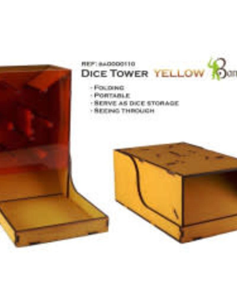 Bandua Wargames Dice Tower Yellow (Commande spéciale)