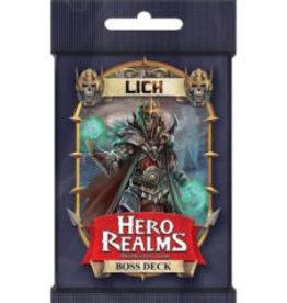 White Wizard Games Hero realms: Lich Boss Deck (EN) (commande spéciale)