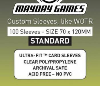 Sleeves - MDG-7152 «Tarot» 70 mm x 120 mm / 100  (commande spéciale)