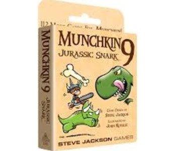 Munchkin 9: Ext. Jurassic Snark (EN) (Commande Spéciale)