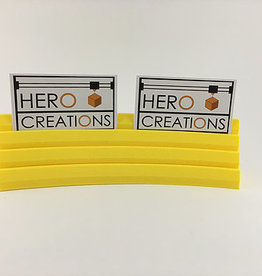 Hero Creations Porte Cartes Magnétique:  Jaune