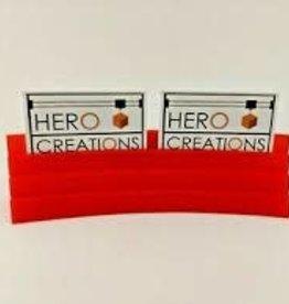 Hero Creations Porte Cartes Magnétique: Rouge
