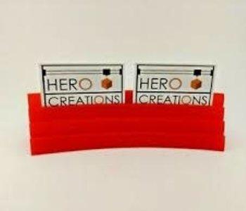 Porte Cartes Magnétique: Rouge
