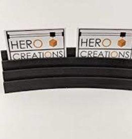 Hero Creations Porte Cartes Magnétique: Noir