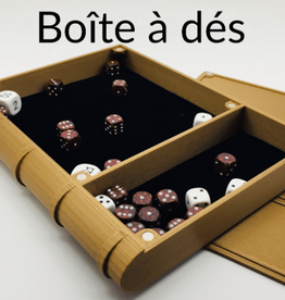 Hero Creations Dice Tray magnétique: Metal Like