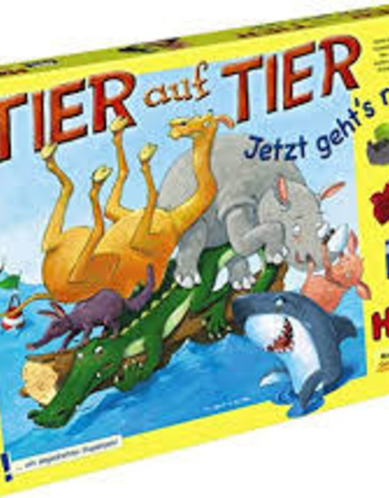 Haba Animal Upon Animal: Here We Turn (Tier Auf Tier) (ML)