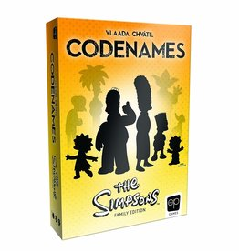 The OP Games Codenames: The Simpsons (EN)