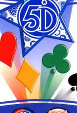 5°Dimension International Carte 5 Dimensions Version Bleu 80 cartes (FR)