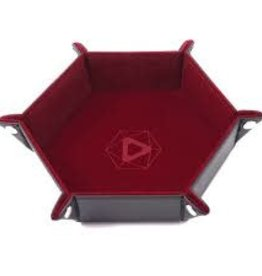 Die Hard Die Hard Dice Tray Hexagone Rouge