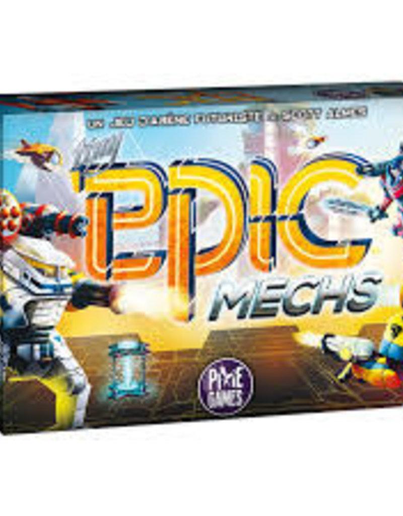 PixieGames Tiny Epic: Mechs (FR) + Errata