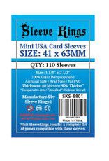 Sleeve Kings 8801 Sleeve «Mini Usa» 41mm X 63mm /110 Kings