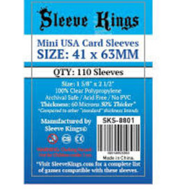 Sleeve Kings 8801 Sleeve «Mini Usa» 41mm X 63mm /110 Kings