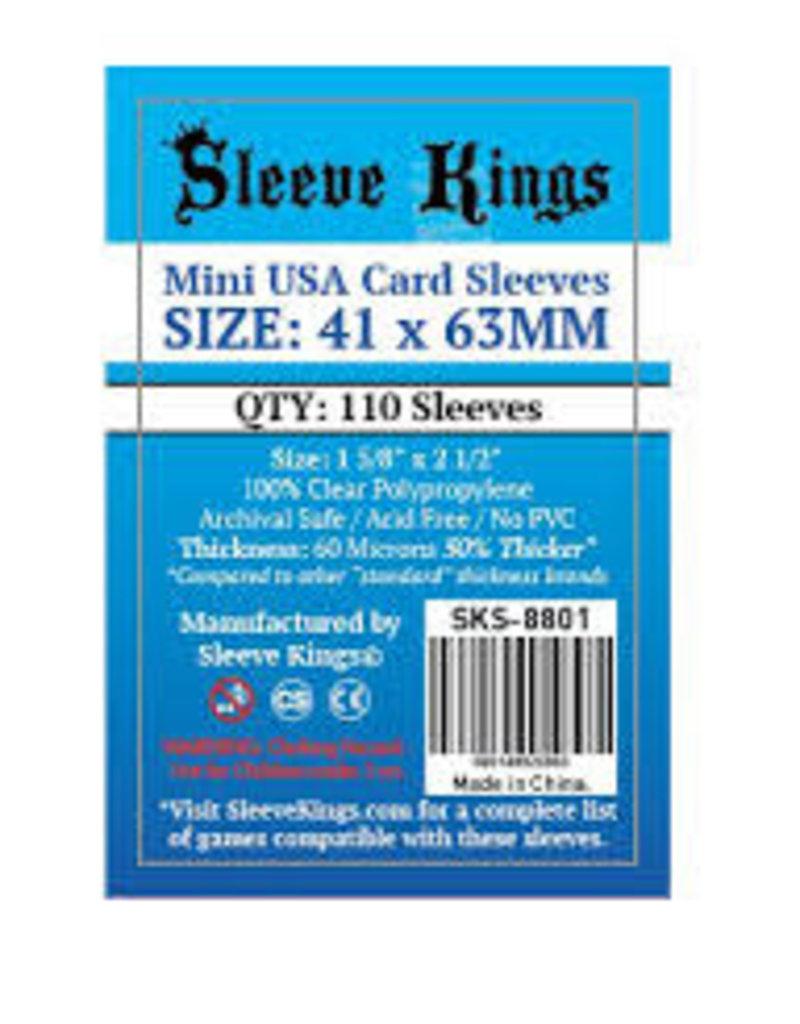 Sleeve Kings SKS-8801 «Mini Usa» 41mm X 63mm /110 Kings - Sleeve