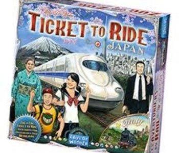 Les Aventuriers du Rail: Ext. Japon Italie (ML)