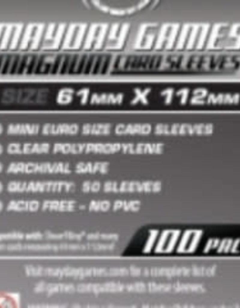 Mayday Games 7113 Sleeve «magnum platinum» 61mm X 112mm / 100